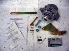 Plane Power Alternator conversion kit inventory.