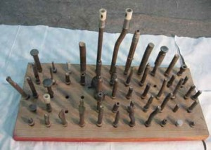 A portion of our rivet gun set collection.