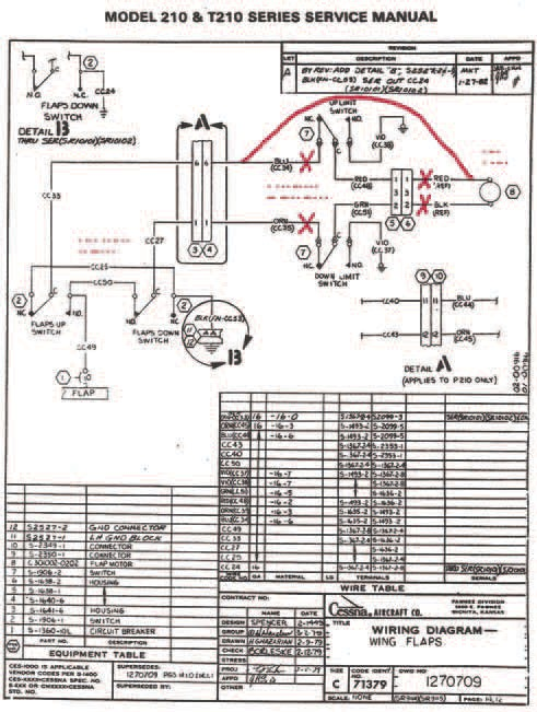 this original cessna wiring diagram has been modified to reflect the  changes made to the airplane