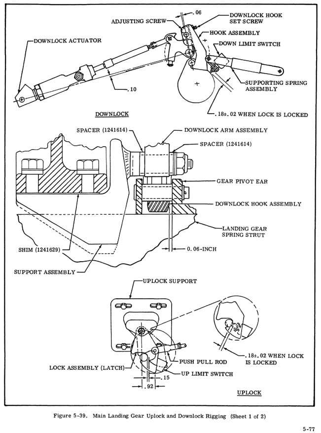 """This complicated mechanism is difficult to see in situation. The service manual drawings give a more clear understanding of relative positions of the various parts."""