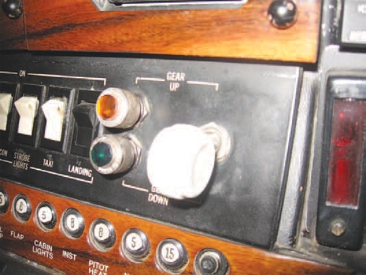 The 1978 210M gear system has an electric switch, like this one, for gear position selection.